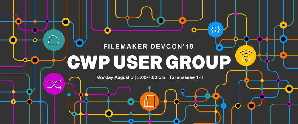User Group at FileMaker DevCon 2019